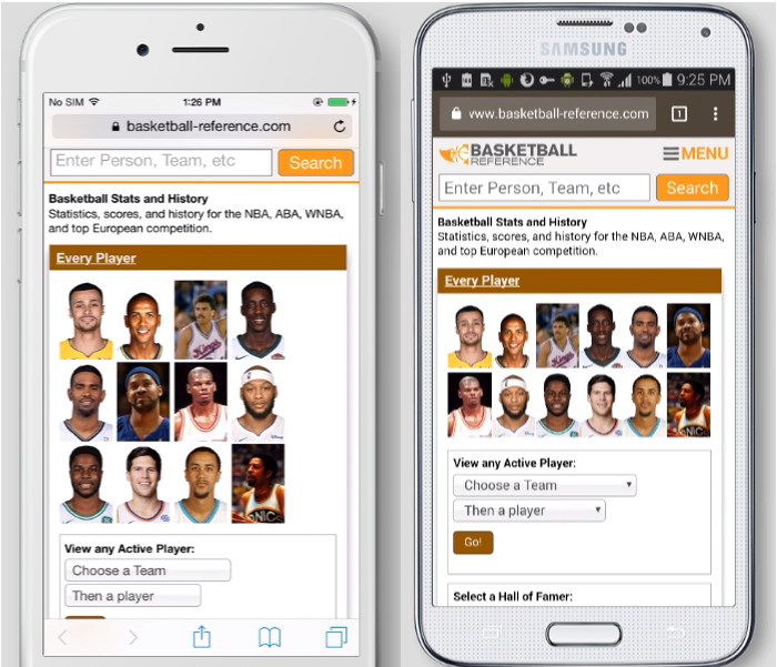 How to Add Sports-Reference's Sites To Your Phone's Home